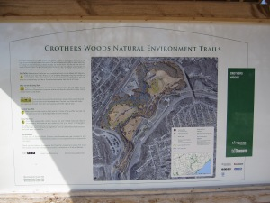 Crothers Woods Plaque